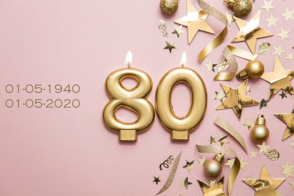 Stadhouder bestaat 80 jaar